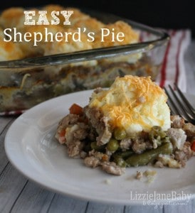 Tips and short cuts make this shepherd's pie an easy family meal
