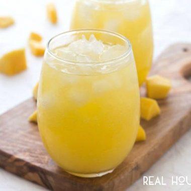 Sparkling Mango Water