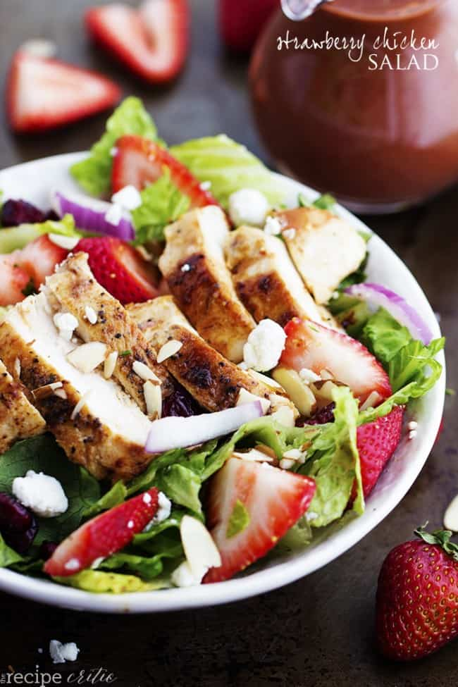 Strawberry Chicken Salad - The Recipe Critic