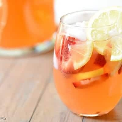 Strawberry Lemonade Sangria