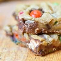 Ultimate Candy Cookie Bars were gone in a day at my house!!!