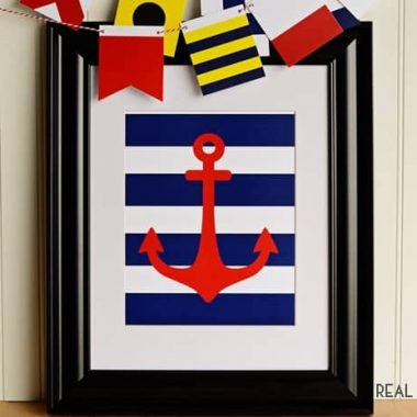 Nautical Anchor Printable