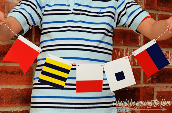 maritime flag printable set ISBMTF