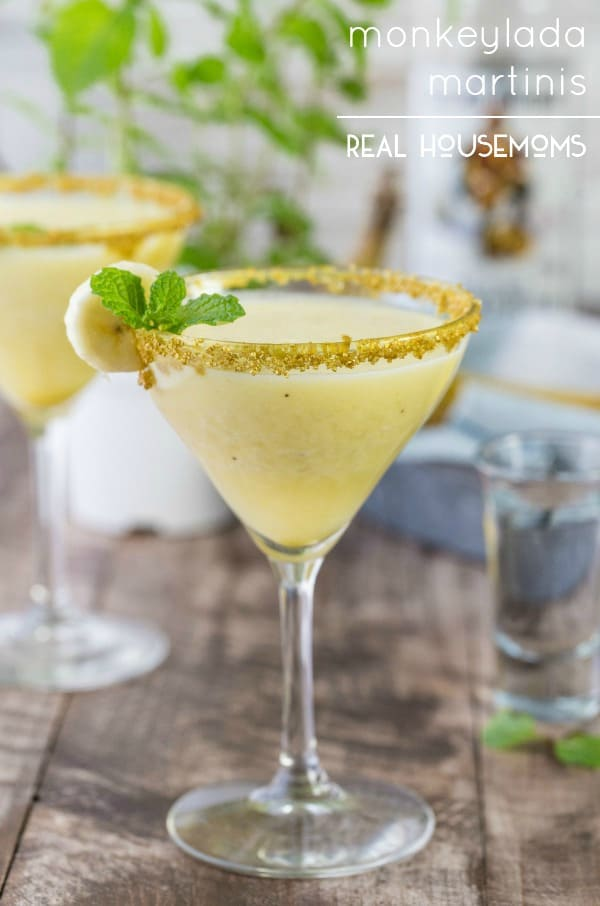 Monkeylada Martinis are tropical, delicious, refreshing, and fun! Perfect for summer!