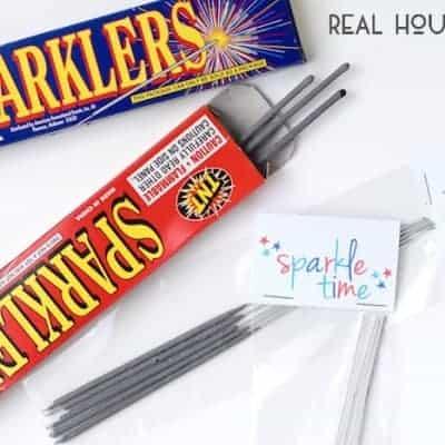 Sparklers Printable {PDF & Silhouette}