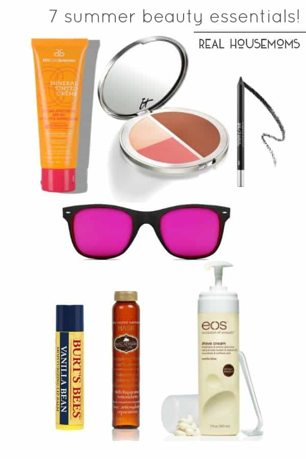 Our 7 Summer Beauty Essentials are super low maintenance and will help keep you looking gorgeous all summer long!
