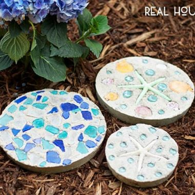 DIY Garden Stones