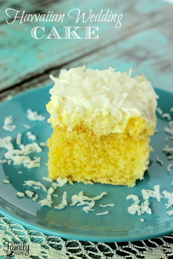 Hawaiian Wedding Cake - Favorite Family Recipes