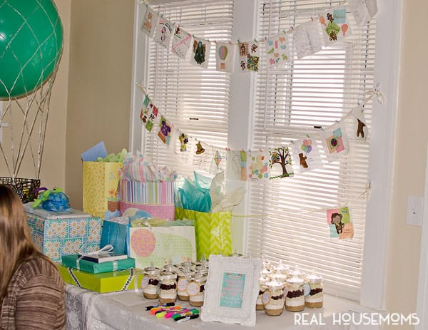 Hot Air Balloon Baby Shower Real Housemoms