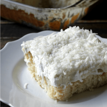 Mom's Best Ever Coconut Cake SQUARE