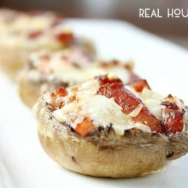 Pancetta Stuffed Mushrooms are an appetizer that is simple but delicious!