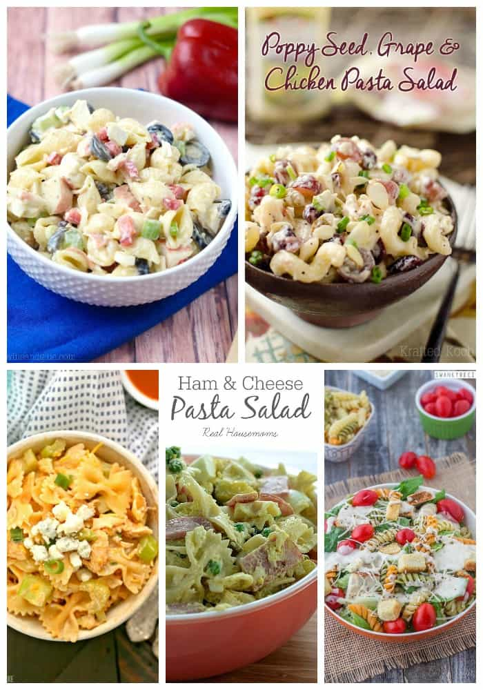 25 Pasta Salad Recipes on Real Housemoms