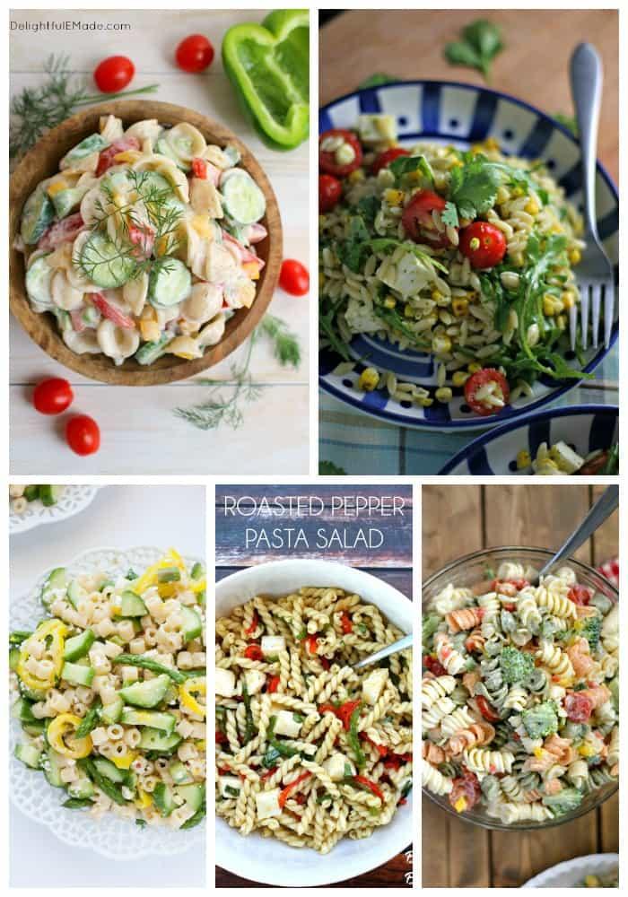 25 Pasta Salad Recipes on Real Housemoms