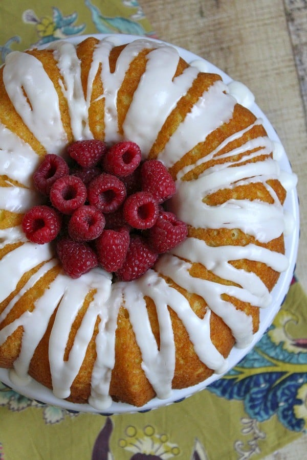 Raspberry Lemonade Bundt Cake | Recipe Girl