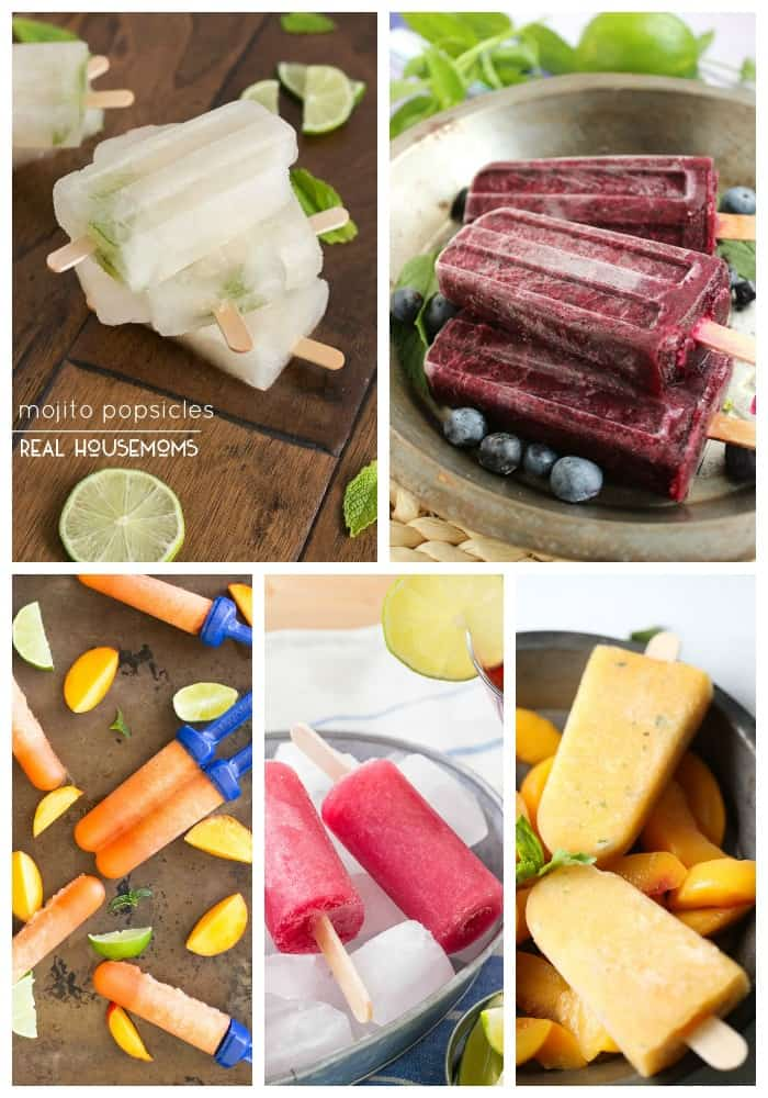 25 Adult Popsicles on Real Housemoms