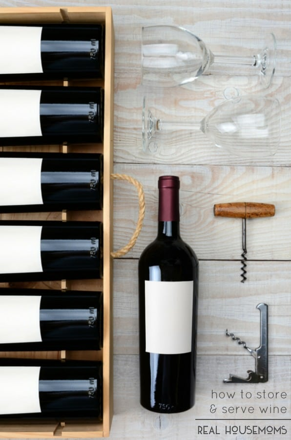 Whether you're a beginning wine drinker or keep the regular bottle (or three) around the house, our tips on How To Store & Serve Wine will make sure your getting the best from your bottle everytime!