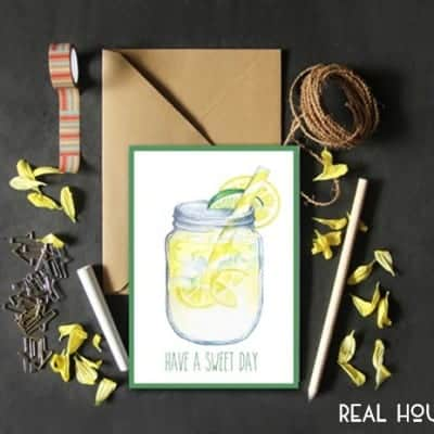 Have a Sweet Day Printable Card