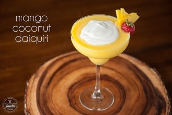 Mango Coconut Daiquiri | Self Proclaimed Foodie
