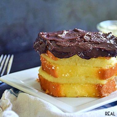 No Bake Boston Cream Pie