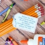 Pencil Bouquet Back to School Printable