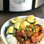 Dust off that slow cooker and try this easy Slow Cooker Pineapple Teriyaki Chicken, your family will love it!