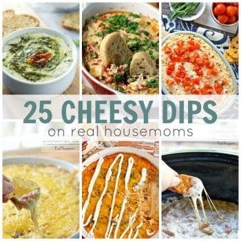 25 Cheesy Dips | Real Housemoms