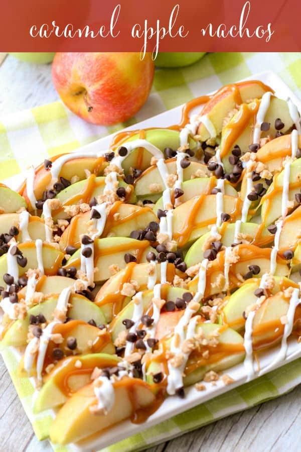 Caramel Apple Nachos - Lil' Luna
