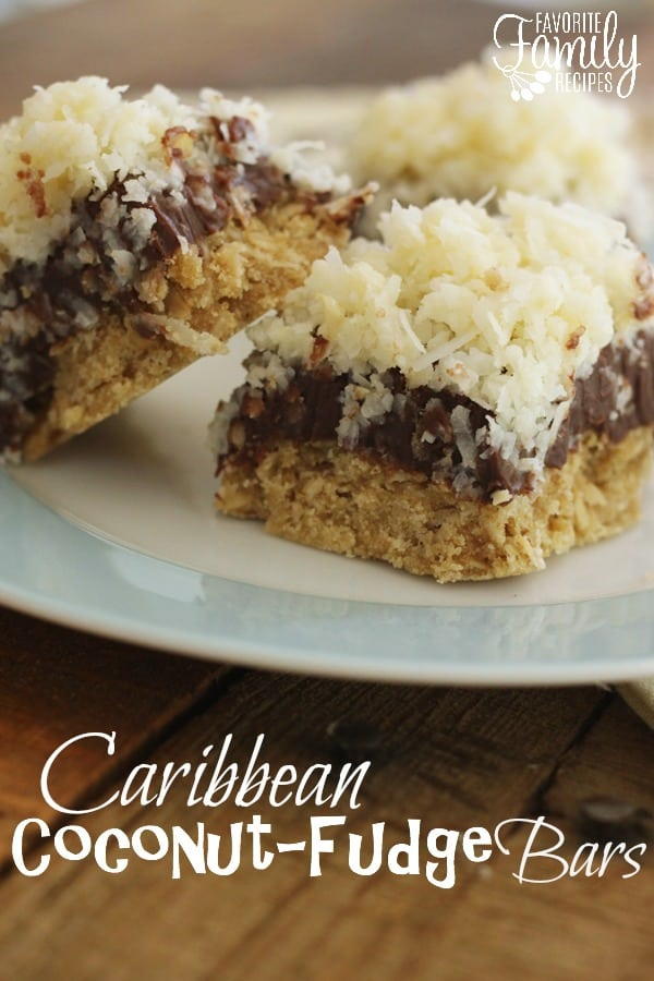 Caribbean Coconut-Fudge Bars - Favorite Family Recipes
