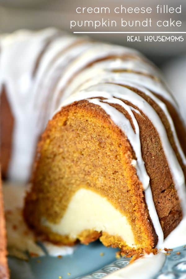 Pumpkin Cake Bundt Cream Cheese Frosting