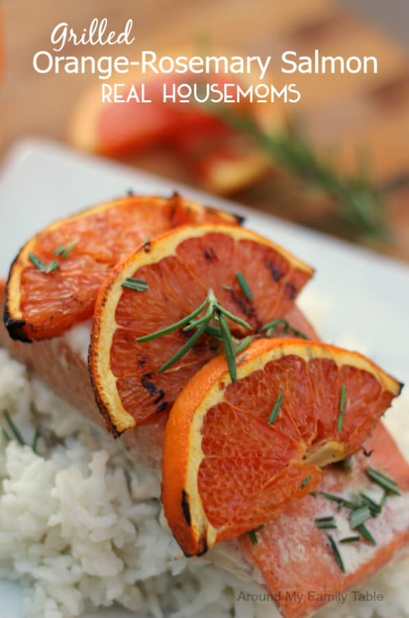 Grilled Orange-Rosemary Salmon - Real Housemoms