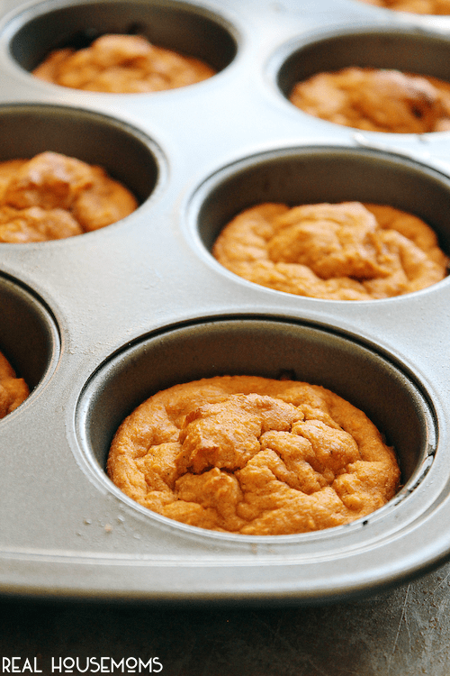 Start your day with Skinny Oat and Honey Pumpkin Muffins for a lighter breakfast with all the flavors of fall!