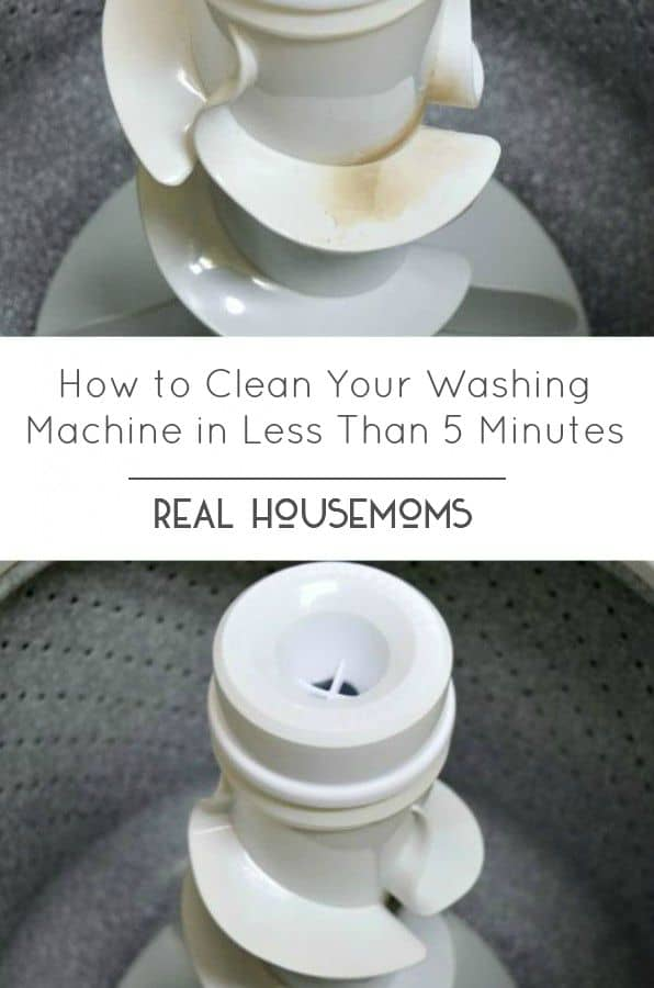 How to Clean Your Washing Machine in Less Than 5 Minutes HERO 2
