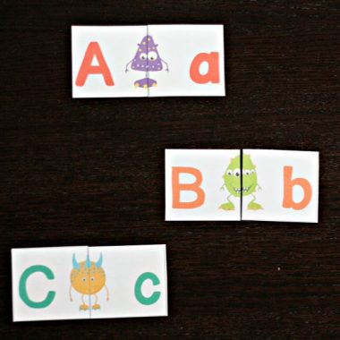 Monster Alphabet Match Up