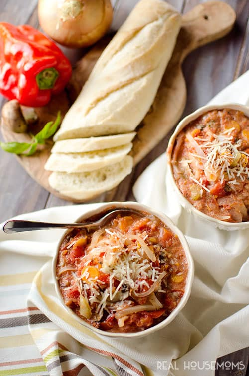 Light Crock Pot Tomato Bisque is an easy and delicious weeknight dinner idea you can throw in your slow cooker for a healthy meal your family will love!