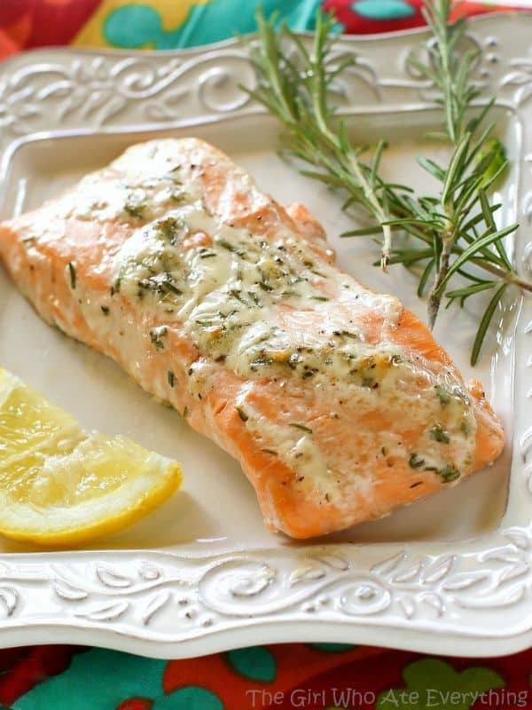 Rosemary Ranch Salmon - The Girl Who Ate Everything