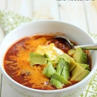 This flavorful and hearty Slow Cooker Chipotle Ale Chili with it's little kick of heat will soon become a family favorite!
