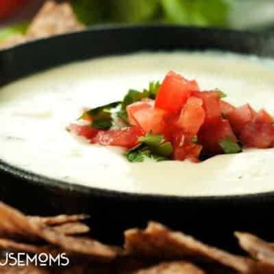 Spicy Restaurant Style Queso Blanco
