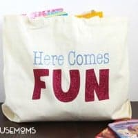 This BABYSITTING BAG will make your teen the most popular babysitter on th block! My kids always want the babysitter that brings lots of fun things.