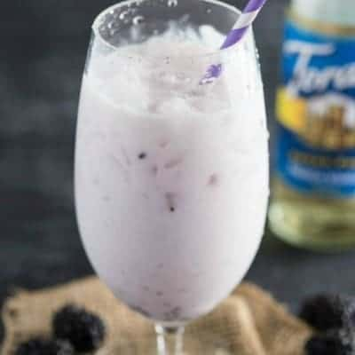 Blackberry Vanilla Italian Soda