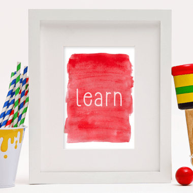 Free Watercolor Classroom Inspiration Printables