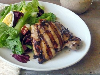 Easy Grilled Chicken   by Life Tastes Good