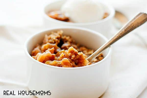 Make having your favorite fall dessert even easier with this Slow Cooker Apple Crisp recipe!