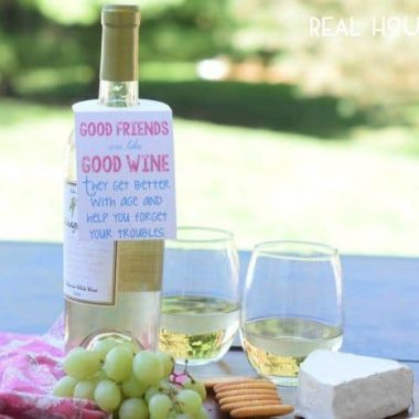Free Wine Tag Printable