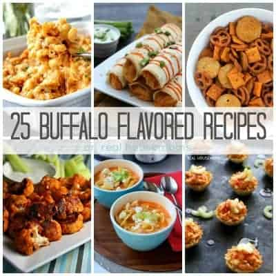 25 Buffalo Flavored Recipes