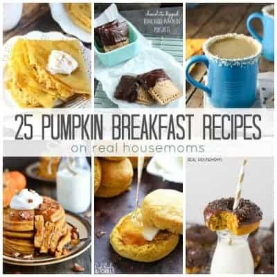 25 Pumpkin Breakfast Recipes