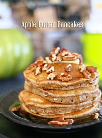 Apple Butter Pancakes from kleinworthco.com