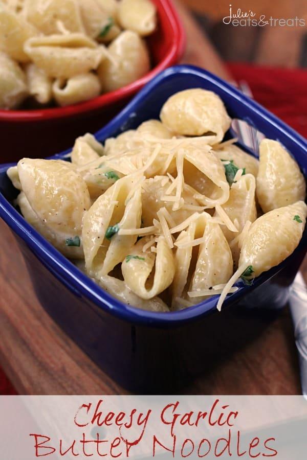 Cheesy Garlic Butter Noodles Logo