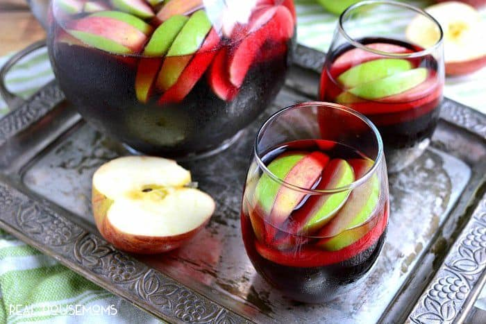 Cran-Apple Sangria features the best flavors of fall in a deliciously sweet drink that everyone will love!