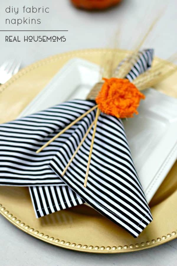 dress up your place settings and get you table ready for company with our tutorial for