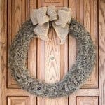 Easy Fall Moss Wreath
